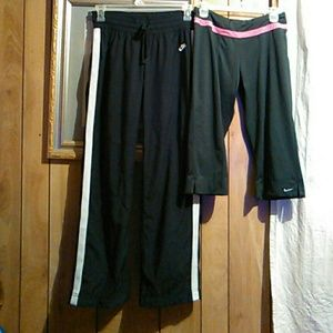 2#Nike athletic pants& Capri